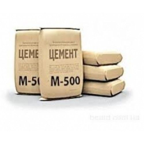 Тарированный цемент М500 (мешки 50 кг)